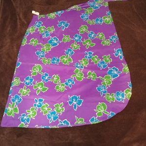 🌺 Hawaiian Sarong Wrap Skirt / Coverup 🌺 NWT 💐